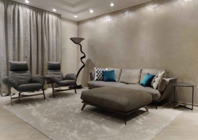RESTYLING ZONA LIVING Location – Bari Progetto: Staff Attanasio Arredamenti