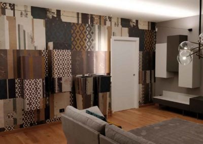 RESTYLING ZONA LIVING Location – TURI (Bari) Progetto : Staff Attanasio Arredamenti