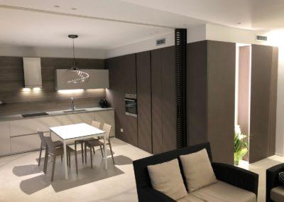 PROGETTO & ARREDO CUCINA –  LIVING Location – SANTERAMO (Bari) Progetto: Arch.DI GREGORIO Imma