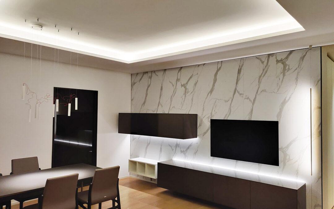 PROGETTO & ARREDO SOGGIORNO Location – Bitritto (Bari) Progetto: Staff Attanasio Arredamenti
